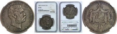 1883. Dollar. NGC. XF-45.