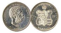 1883. Half Dollar. CAU.