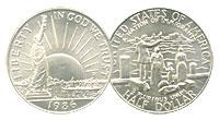 1986-D. GEM. Statue of Liberty.
