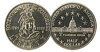 1989-D. GEM. Congressional.