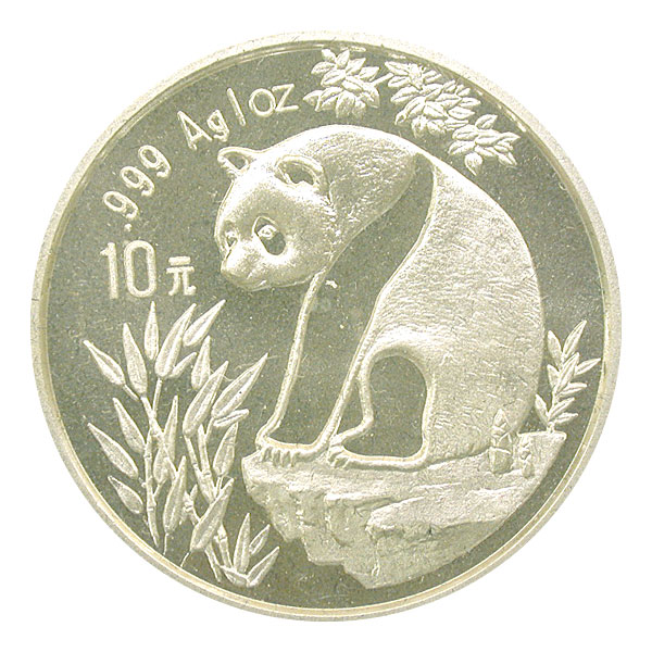 101169- 1993. GEM. Panda. One Ounce.