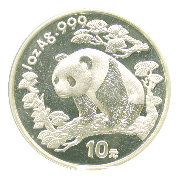 101175- 1997. GEM. Panda. One Ounce.
