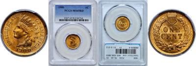 1900. PCGS. MS-65. RD.
