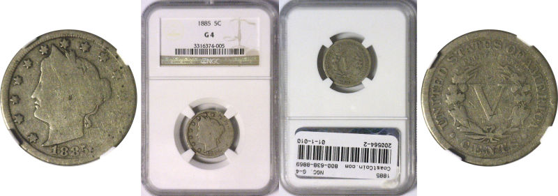 200564- 1885. NGC. G-4.