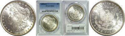 1878-CC. PCGS. MS-64.