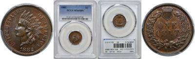 1882. PCGS. MS-65. BN.