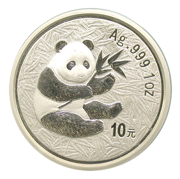 101188- 2000. GEM. Panda. One Ounce.
