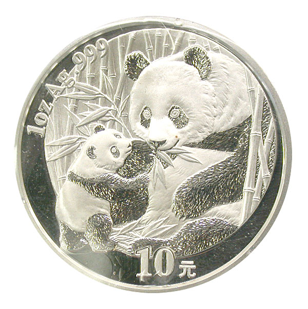 101236- 2005. GEM. Panda. One Ounce.