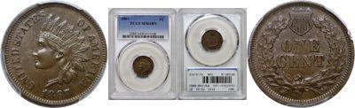 1867. PCGS. MS-64. BN.