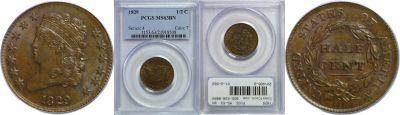 1829. PCGS. MS-63. BN.