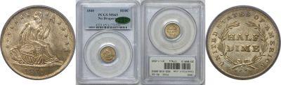 1840. PCGS. MS-65.