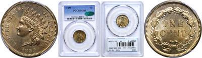 1859. PCGS. MS-65.