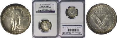 1916. NGC. Ungraded.