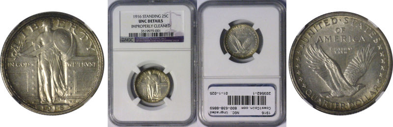 203562- 1916. NGC. Ungraded.