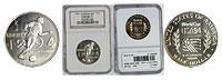 1994-D. NGC. MS-69. World Cup.