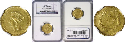 1854-O. NGC. Ungraded.