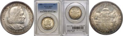 1892. PCGS. MS-65. Columbian/Expo.