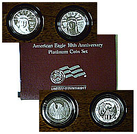 2007. 10th Anniv Platinum with box/papers.
