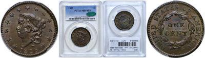 1816. PCGS. MS-64. BN.
