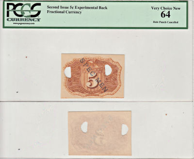 5c. Proofs/Specimens/Misc.. PCGS. Very Ch-64. Expe