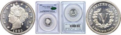 1883-N/C. PCGS. PR-66. CAM.