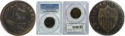 1787. New Jersey. PCGS. Genuine.