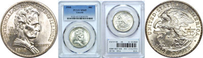 1918. PCGS. MS-65. Lincoln.