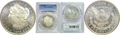 1878-8TF. PCGS. MS-64. PL.