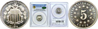 1876. PCGS. PF-66+. CAM.