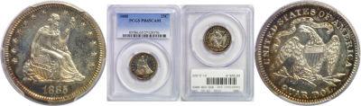 1885. PCGS. PR-65. CAM.