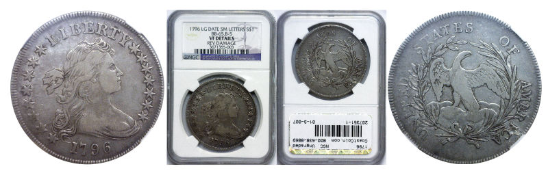 207351- 1796. NGC. Ungraded.