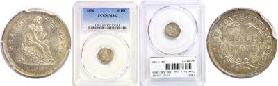 1856. PCGS. MS-63.