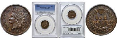 1888. PCGS. MS-64. BN.