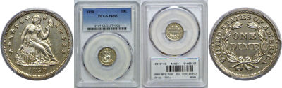 1858. PCGS. PR-63.
