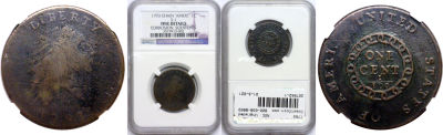 1793. NGC. Ungraded.