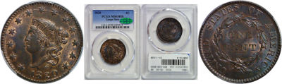 1820. PCGS. MS-65. RB.