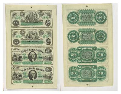 1872. $20/$50. CCU. SC.