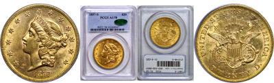 1857-S. PCGS. AU-58.