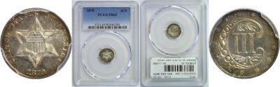 1870. PCGS. PR-65.
