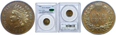 1885. PCGS. PR-66. BN.