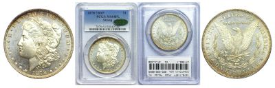 1878-7/8TF. PCGS. MS-64. PL.