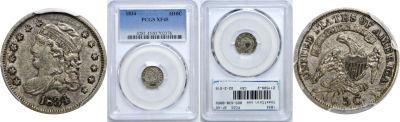 1834. PCGS. XF-45.