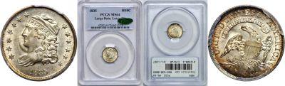 1835. PCGS. MS-64.
