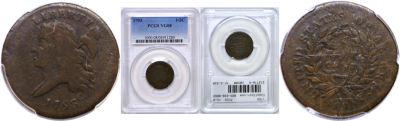 1793. PCGS. VG-8.