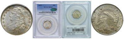 1835. PCGS. MS-62.