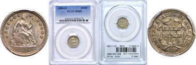 1856-O. PCGS. MS-62.