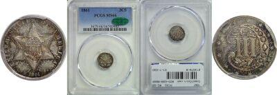1861. PCGS. MS-66.