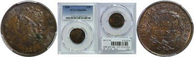 1834. PCGS. MS-63. BN.