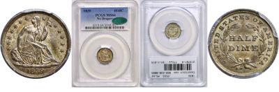 1839. PCGS. MS-64.