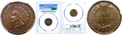 1884. PCGS. PR-65. BN.